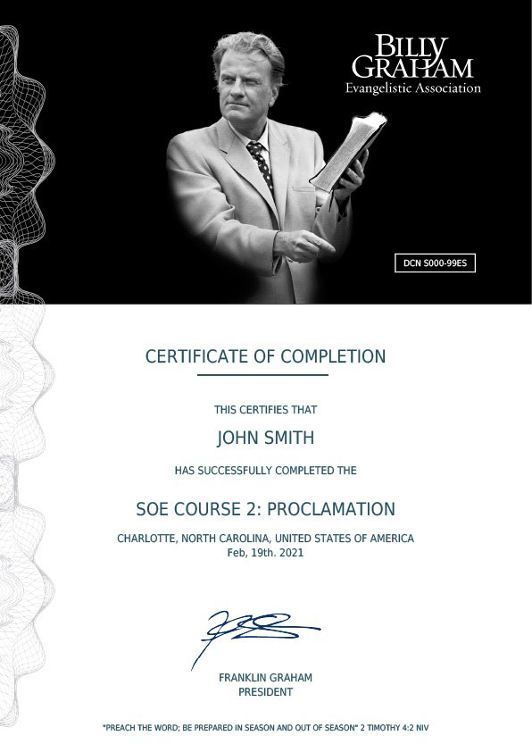 Certificate Two